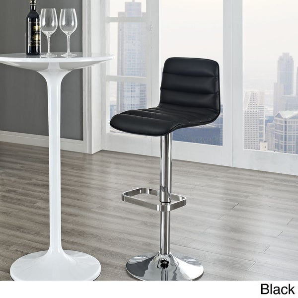 Ripple Black Bar Stool