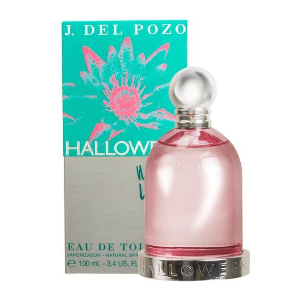 Jesus del Pozo Halloween Water Lily Women's 3.4-ounce Eau de Toilette Spray