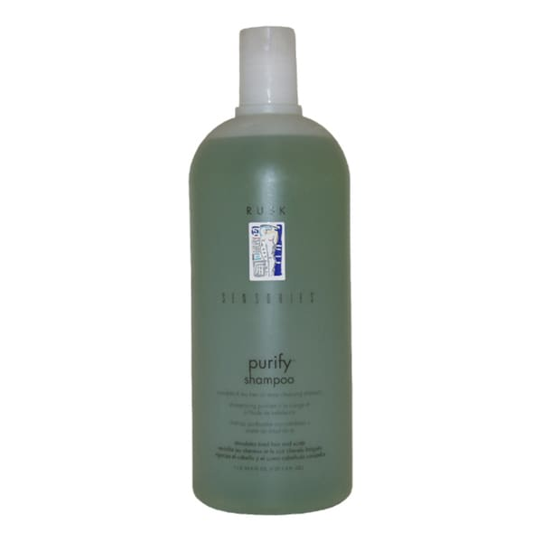 Rusk Sensories Purify Cucurbita & Tea Tree Oil 33.8-ounce Shampoo