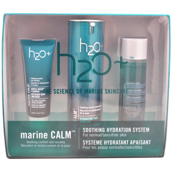 H2O+ Marine Calm Soothing Hydration System 3-piece Kit