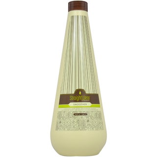 Macadamia Oil Natural Oil Straightwear Straightening Solution 33.8-ounce Smoother