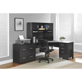 Altra Princeton Espresso L-desk