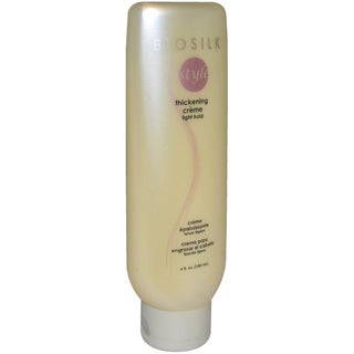 Biosilk Therapy Thickening Light Hold 6-ounce Creme