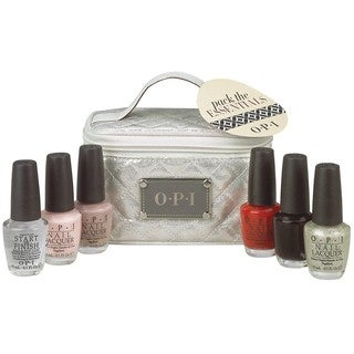 OPI The Essentials 6-piece Nail Polish Set with Train Case