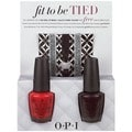 OPI Fit To Be Tied #3 Nail Polish Duo and Hair Ties 5-piece Set