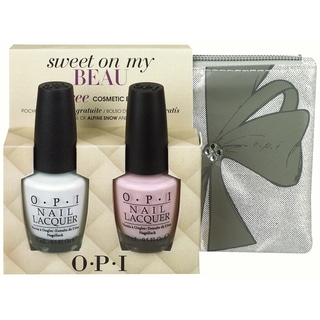 OPI Sweet On My Beau Nail Polish Duo with Cosmetic Bag
