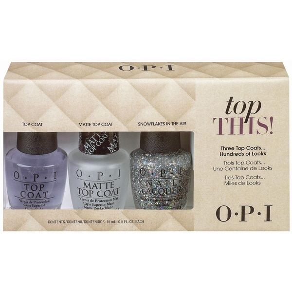 OPI Top This! Top Coat Kit