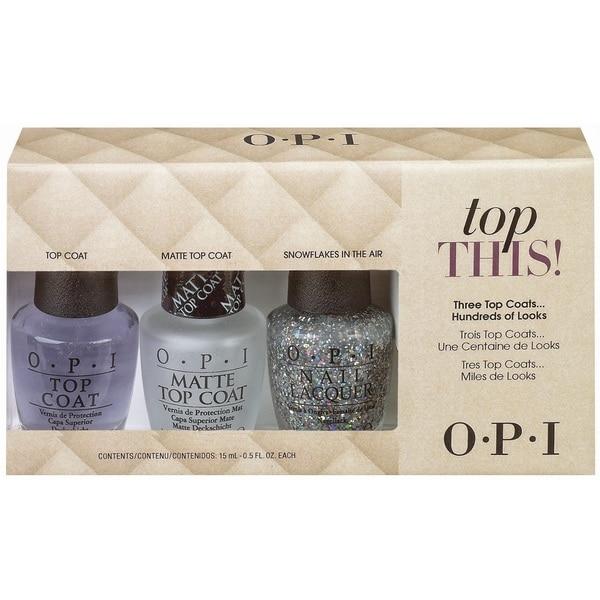 OPI Top This! Top Coat Kit