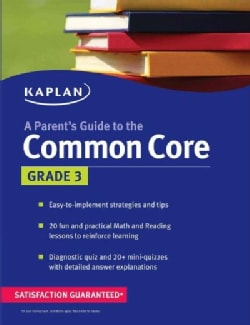 A Parent's Guide to the Common Core: Grade 3 (Paperback)