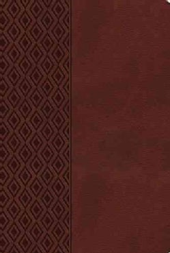Holy Bible: New King James Version, Medium Brown Leathersoft, Center-Column Reference Bible (Paperback)