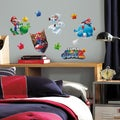 Nintendo Mario Galaxy 2 Peel and Stick Wall Decals