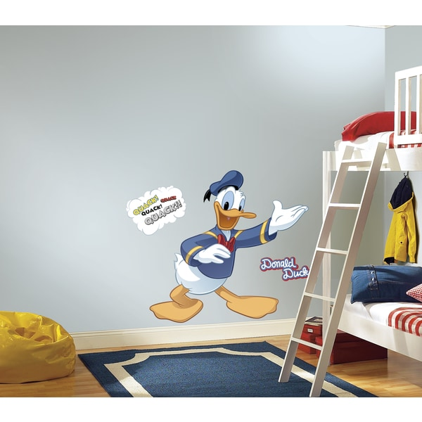 Donald Duck Peel and Stick Giant Wall Decal