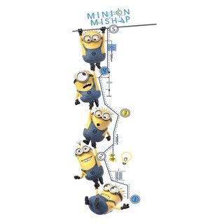 Despicable Me 2 Growth Chart Peel and Stick Wall Decals