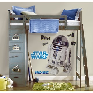 Star Wars Classic R2D2 Peel and Stick Giant Wall Decal