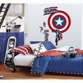 Captain America Vintage Shield Peel and Stick Giant Wall Decal