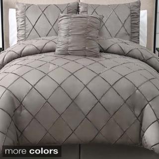 Santiago Velvet 4-piece Comforter Set