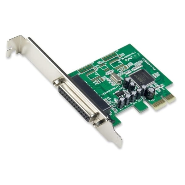 IOCrest PCI-E Printer/ Parallel Card Moschip 9901 Chipset one Low Profile Bracket