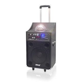 Pyle PSUFM1049A 600W Disco Jam Bluetooth 2-way PA Speaker System