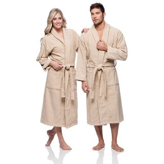 Chevron Turkish Cotton Spa Bath Robe
