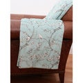 Davion Birds Printed Microplush Throw