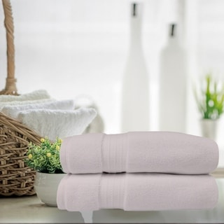 Turkish Cotton 900 GSM White Bath Sheet Towels (Set of 2)