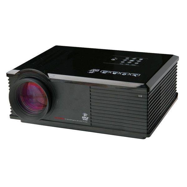 Pyle PRJ3D99TU LED Widescreen Projector