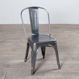 Spencer Metal Dining Chair (India)