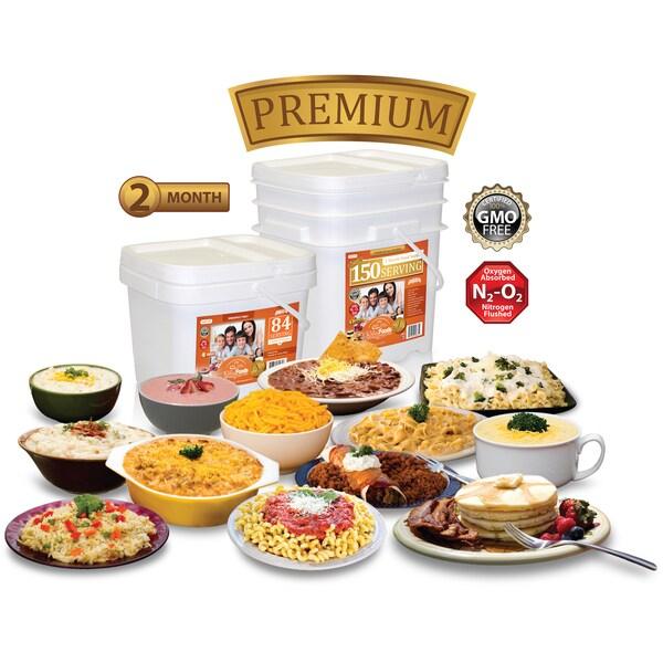 Relief Foods Essential Entree & Breakfast Combo (214 Servings)