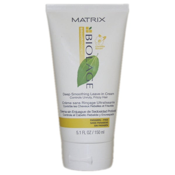 Matrix Unisex Biolage Smooththerapie Deep Smoothing 5.1 oz Leaving-In Cream