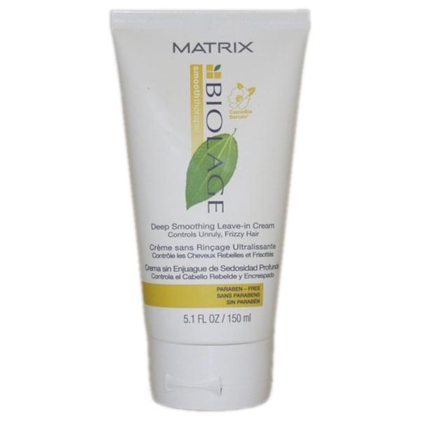 Matrix Unisex Biolage Smooththerapie Deep Smoothing 5.1 oz Leaving-In Cream