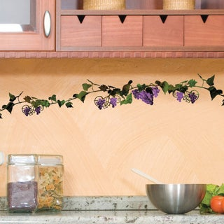 DCWV Vines with Grapes Wall Art