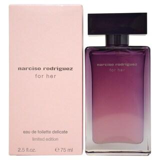 Narciso Rodriguez Women's 2.5-ounce Eau de Toilette Spray (Delicate Limited Edition)
