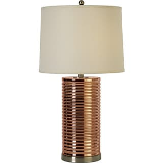 Arctica Rose Gold Table Lamp