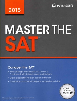 Peterson's Master the Sat 2015 (Paperback)