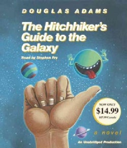 The Hitchhiker's Guide to the Galaxy (CD-Audio)