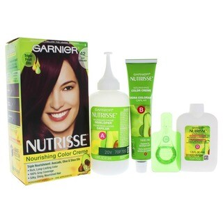 Garnier Nutrisse Nourishing Color Creme # 42 Deep Burgundy 1-application Hair Color