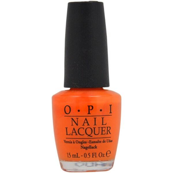 OPI 'Y'All Come Back Ya Hear?' Orange Nail Lacquer