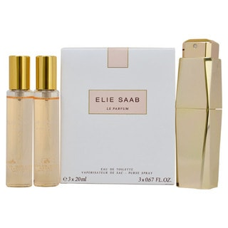 Elie Saab Le Parfum Women's Purse Spray and Refills Gift Set
