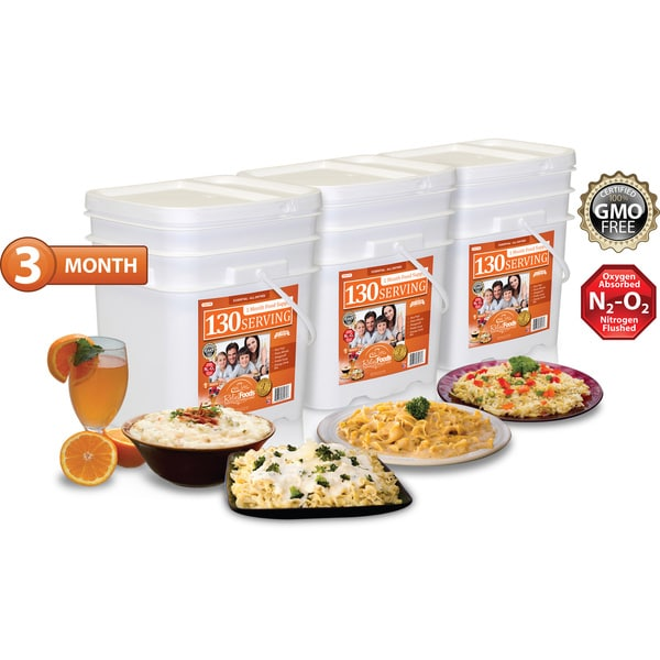 Relief Foods Essential Entree Combo (390 Servings)