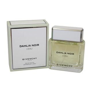 Givenchy Dahlia Noir LEau Women's 3-ounce Eau de Toilette Spray