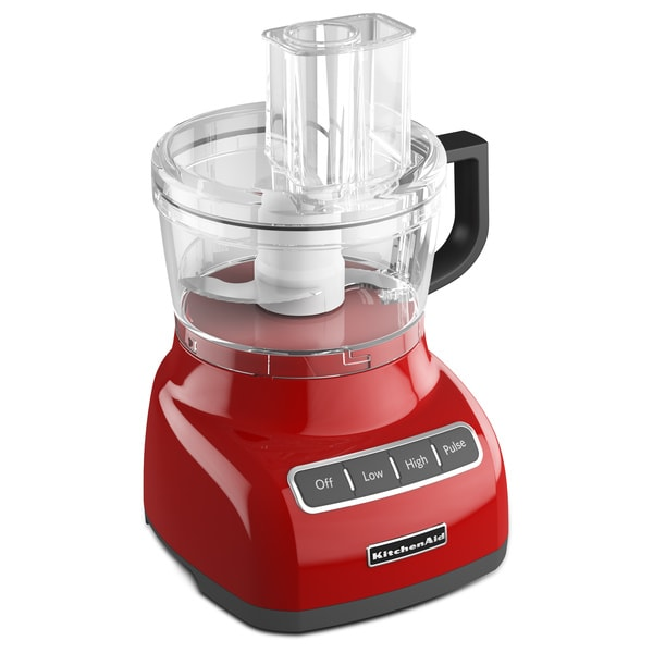 KitchenAid KFP0711ER Empire Red 7-cup Food Processor 12110619