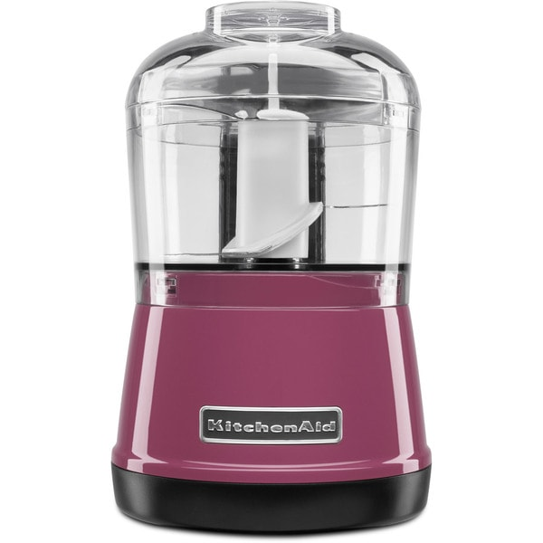 KitchenAid KFC3511BY Boysenberry 3.5-cup Food Chopper
