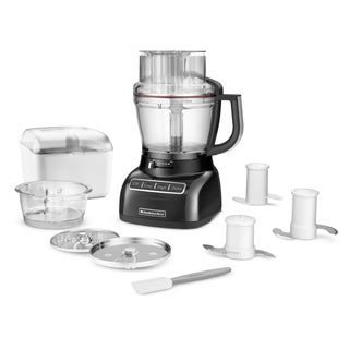 KitchenAid KFP1333OB Onyx Black 13-cup ExactSlice Food Processor