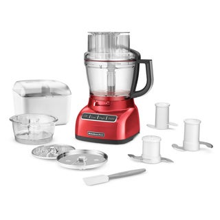 KitchenAid KFP1333ER Empire Red 13-cup ExactSlice Food Processor **plus Overstock $30 gift card**