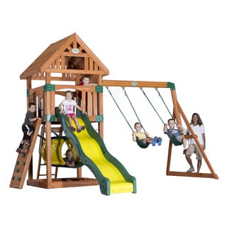 Backyard Discovery Compass All Cedar Swingset