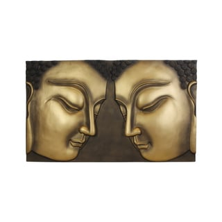 Faces of Buddha Artistic Wall Hanging (Vietnam)
