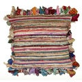 Rafi Miluti Color 18-inch Square Accent Throw Pillows (Set of 2)