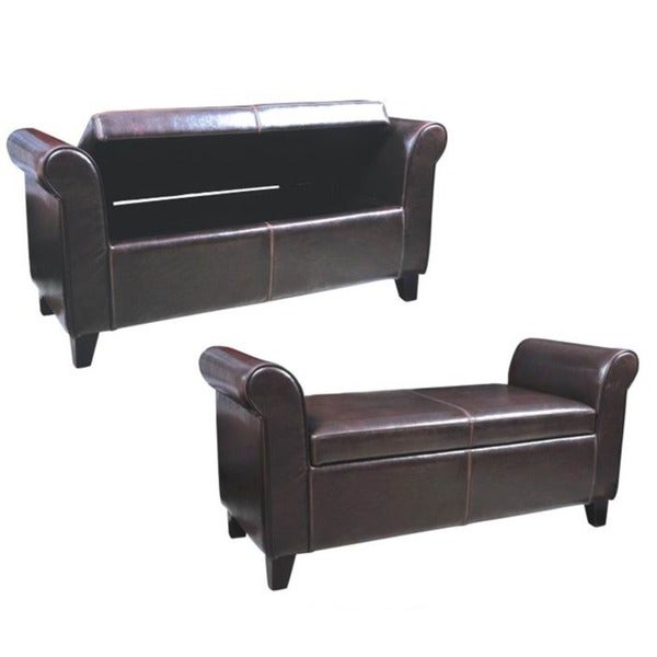 Gary storage ottoman bench furniture living room bed foot table seat footstool ebay - Seat at foot of bed ...