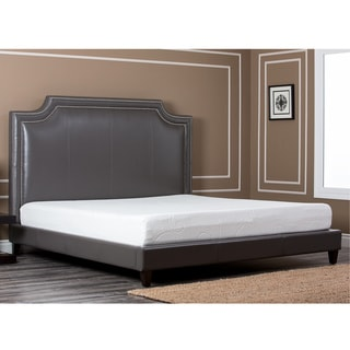 Chelsie Leather Queen Bed