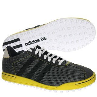 Adidas Men's Adicross II Mesh Grey/ Black/ Yellow Golf Shoes